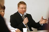 STAROSTA PRAHY 1. Petr Hejma se poprvé setkal s občany na začátku března, další jednání bude za čtvrt roku.