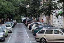 Modré zóny na Praze 1. Ilustrační foto.