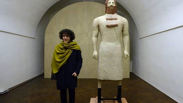 Barbora Dayef představila svoji tvorbu ve zrekonstruovaných prostorách Colloredo-Mansfeldského paláce