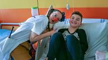 Podpořte výrobu kroužkových bloků pro Zdravotní klauny
