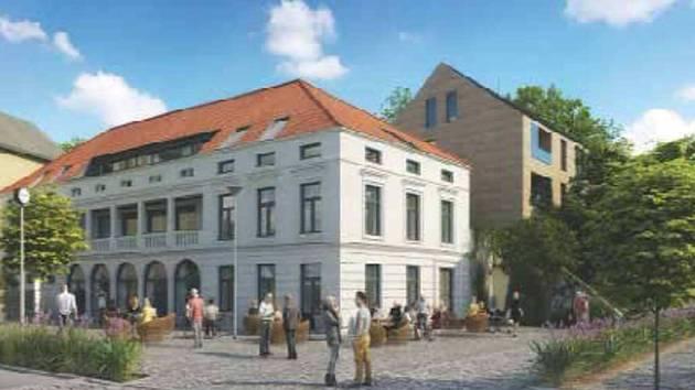 VIZUALIZACE projektu, který měl vzniknout na místě hostince U Brabců.