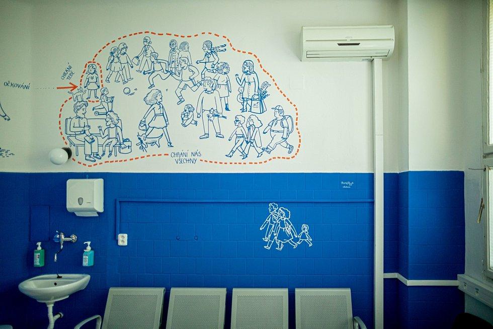 Plošné antigenní testování v Praze. Očkovací centrum Bulovka.