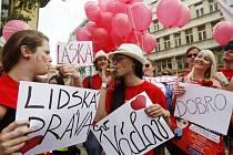 Majálesový průvod prošel 4. května centrem Prahy.