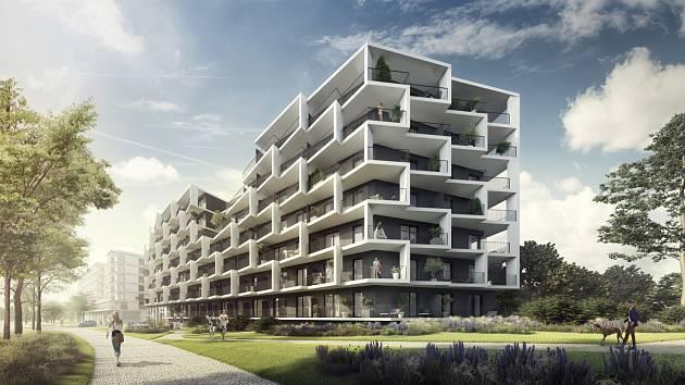 Crestyl zahájil stavbu nové pražské čtvrti Hagibor v sousedství stanice metra Želivského.