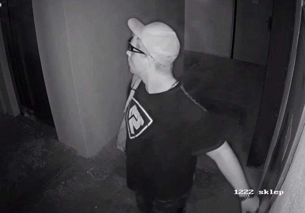 Hledaný zloděj kola.