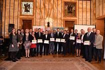 Vyhlášení krajského kola o nejlepší webové stránky měst a obcí.