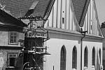 Betlémská kaple. V 50. letech 20. století byla zrekonstruována do přibližně původní podoby podle projektu významného architekta Jaroslava Fragnera.