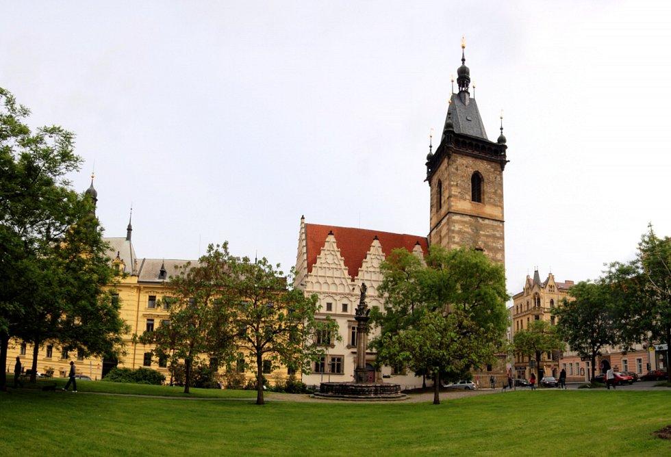 Novoměstská radnice se opět otevřela veřejnosti.