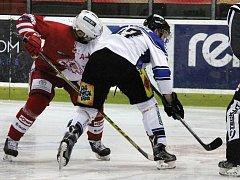 9. kolo první hokejové ligy: Slavia Praha - Havířov 5:1 (1:0, 0:0, 4:1).