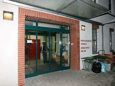 Záchytka Protialkoholní stanice Bulovka.