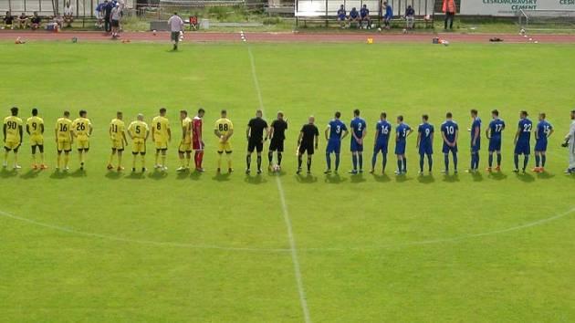 Olympia Radotín - FK Slavoj Vyšehrad 2:1 (0:0) 5:3 na penalty