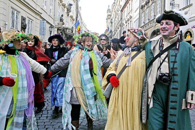 Masopustní týden finišuje. O víkendu si mohou Pražané užít masopustní zábavu hned v několika městských částech.
