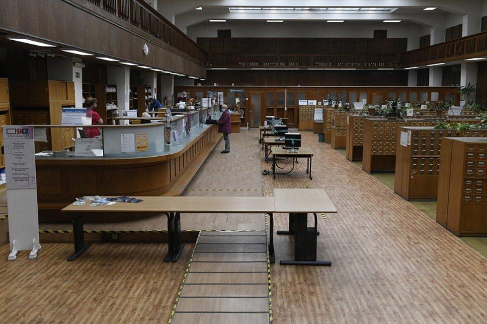 Národní knihovna v Klementinu.
