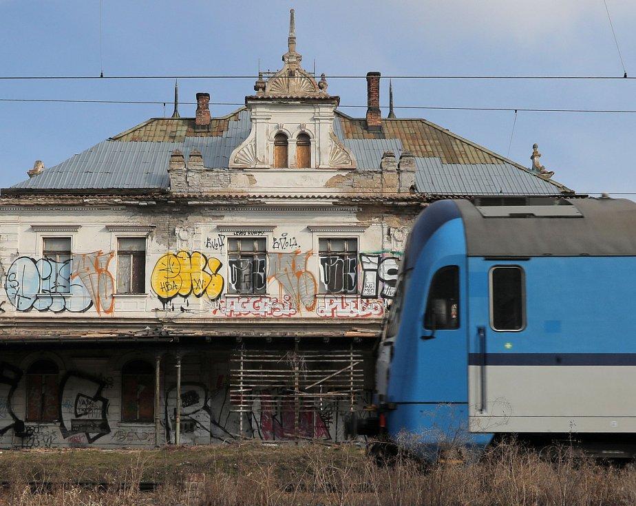 Nádraží Praha - Vyšehrad.