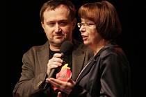 Z galavečera u příležitosti vyhlášení vítězů projektu Deníku Řád srdce v Divadle U Hasičů v Praze.