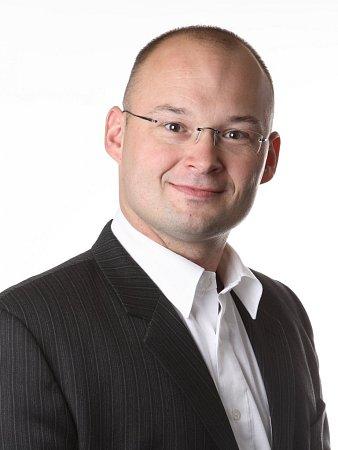 Krajský zastupitel Petr Stříbrnský (TOP 09).