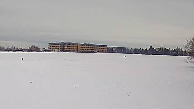 Skipark v Praze na Vypichu.
