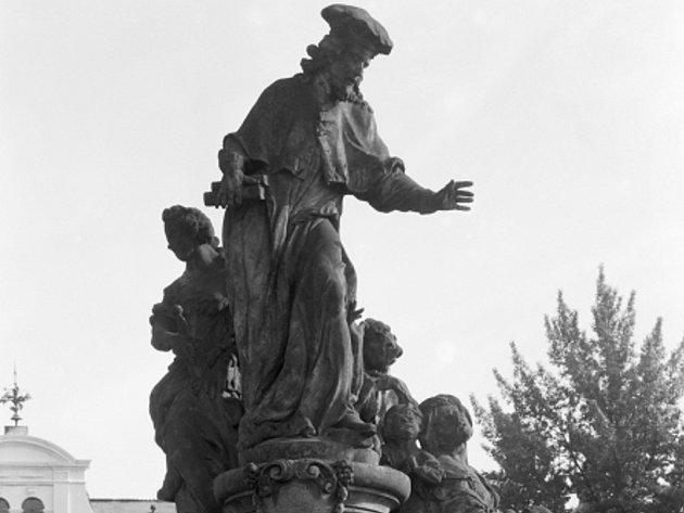 Socha sv. Iva.