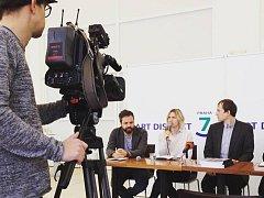 Tisková konference k projektu Art District 7.