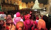 Česko zpívá koledy i v Praze