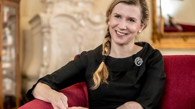 Ministryně Kateřina Valachová.