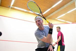 Dánský squashista Kristian Frost