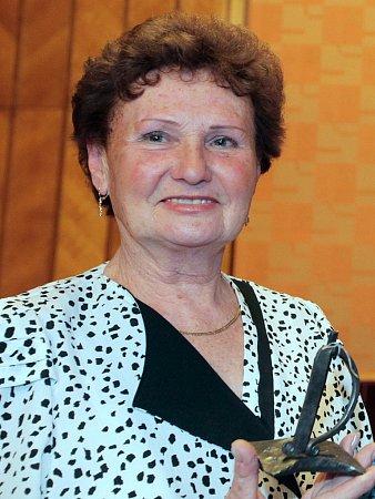 Dobrovolnice Marie Čížková.