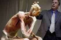 OBHÁJCE. Americký anatom Roy Glover s jedním z plastinátů.