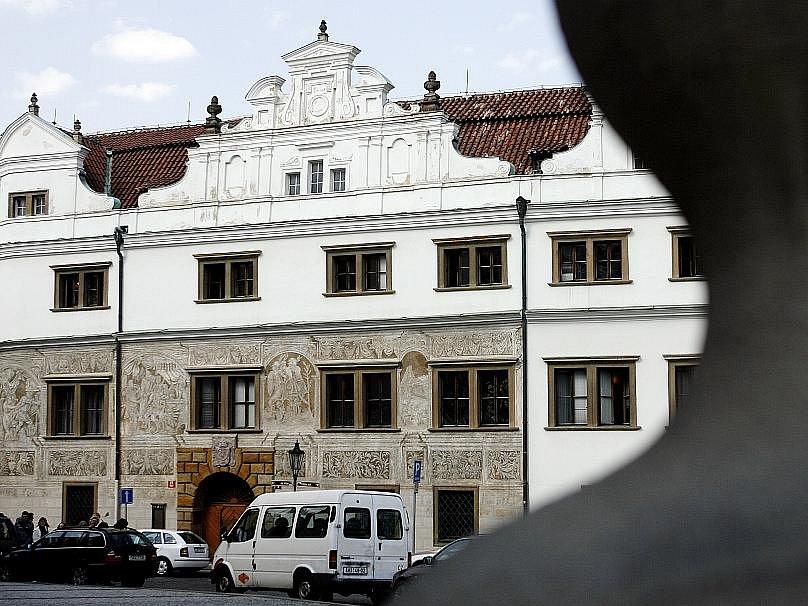 Martinický palác na Hradčanech v Praze.