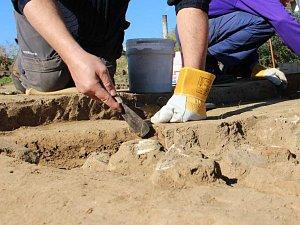 Archeologický průzkum. Ilustrační foto.