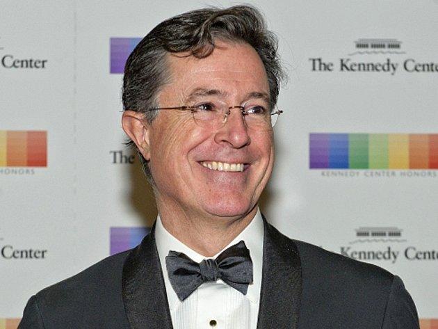 Americký komik Stephen Colbert.