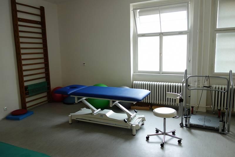 Nemocnice Na Františku. Nové oddělení lůžkové rehabilitace.