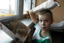 Desetiletý školák Jaroušek