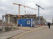 Výstavba bytů na Třebešíně