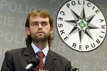 Velitel Útvaru pro odhalování organizovaného zločinu Robert Šlachta.