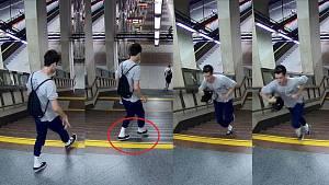 Mladík podezřelý z poškození dveří metra