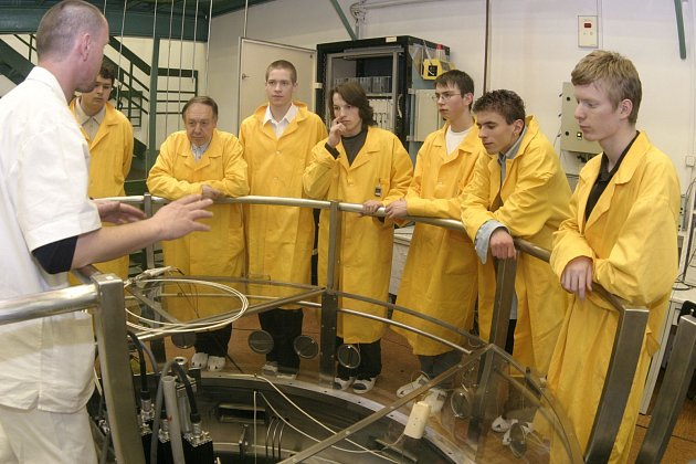 Školní reaktor. Ilustrační foto.