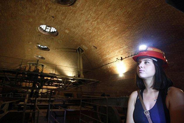 Ekotechnické muzeum v Praze nabízí zájemcům exkurze do staré čistírny odpadních vod.