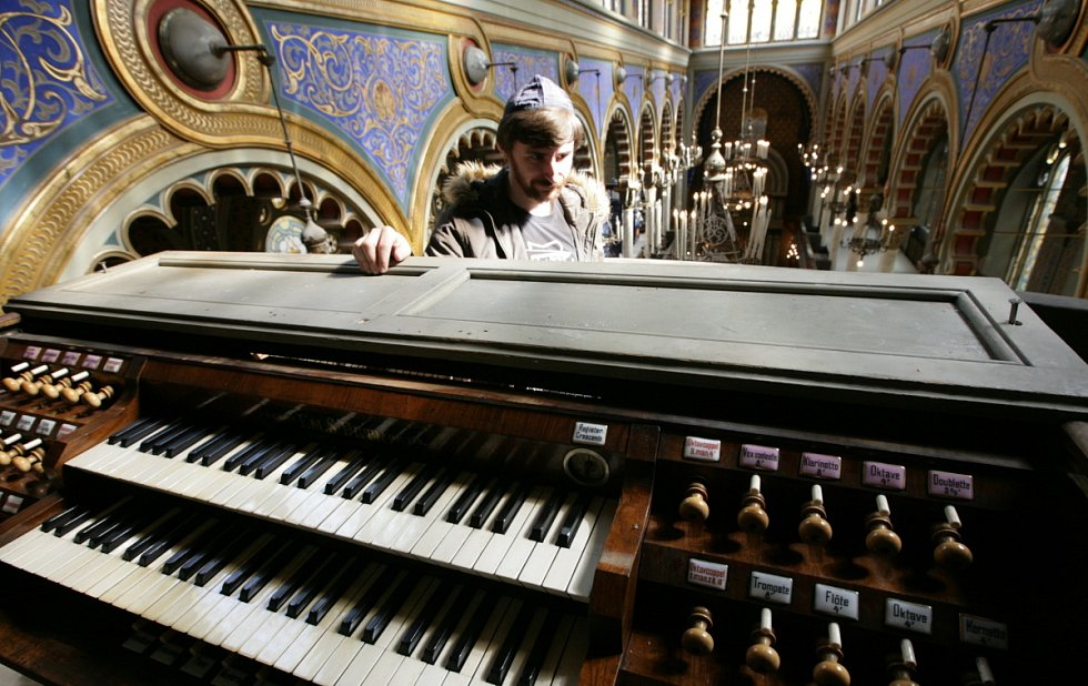Jeruzalémská synagoga na Novém Městě.