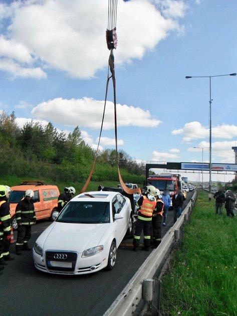 Nehoda na Štěrboholské.