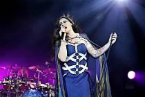 Floor Jansen, zpěvačka finské metalové kapely Nightwish.