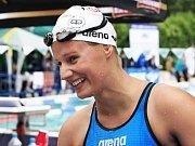 OLYMPIONIČKA! Martina Moravčíková z pražských Bohemians ovládla na Mistrovství České republiky v plavání závod na 200 metrů prsa. Nyní se těší do Londýna.