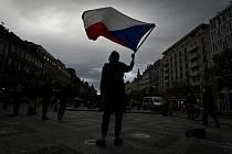 Spolek Milion chvilek pro demokracii uspořádal 29. dubna 2021 na Václavském náměstí v Praze demonstraci nazvanou Hrad za hranou, republika v ohrožení.