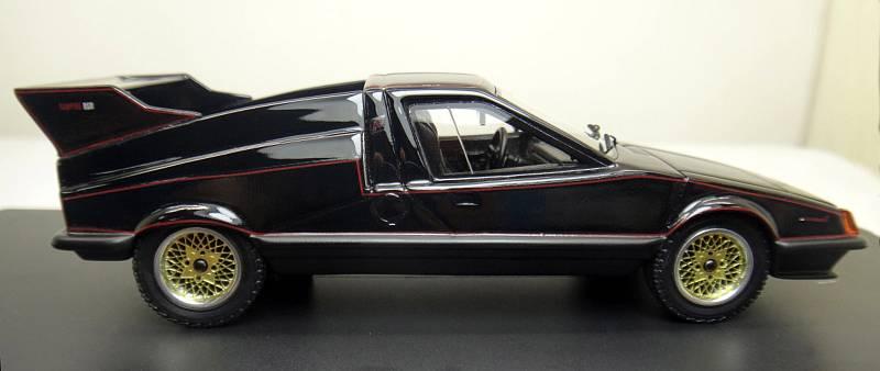 Slavný návrh sportovního vozu známého jako Ferat se přes zájem veřejnosti a pochvale západních médii nezačal nikdy sériově vyrábět.