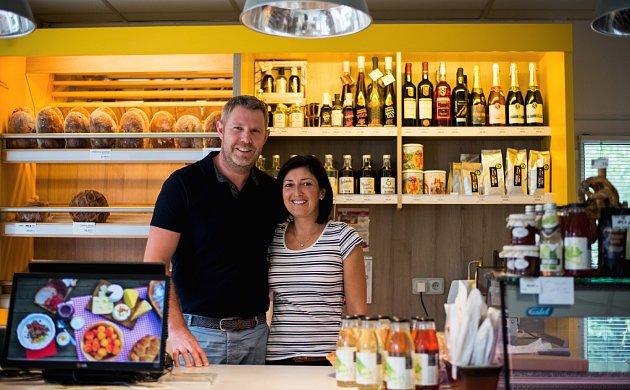 Martin Prokop s manželkou Katarínou, která je v podnikání jeho pravou rukou.