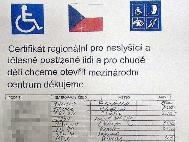 Strážníci z Prahy 1 odhalili podvodné jednání cizinců, kteří vybírali peníze na 'dobročinné účely'.