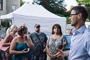 Čapkova vila se poprvé otevřela veřejnosti. Přišly desítky lidí