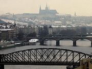 Smog v Praze. Ilustrační foto.