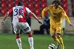 18. kolo první fotbalové ligy: Slavia Praha – Dukla Praha 2:1 (2:0).