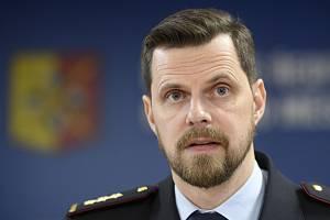 Ředitel pražské policie Jan Ptáček.